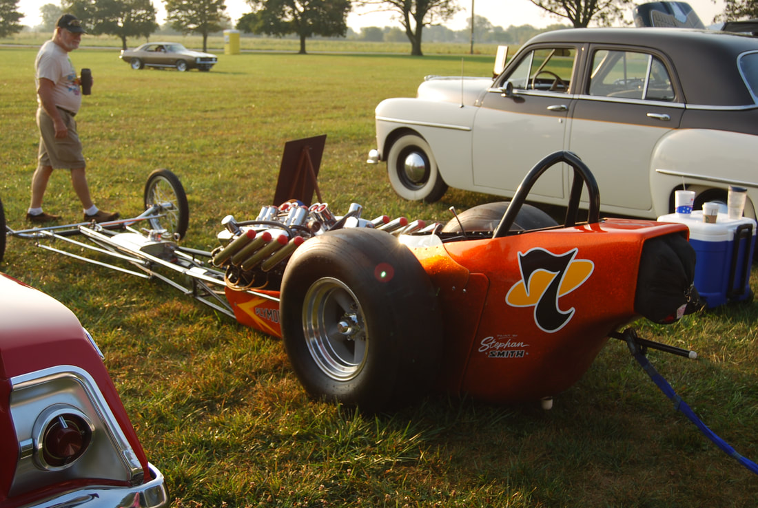 Car Show Back To The Fifties Festival - Show car